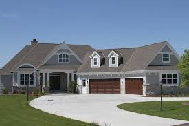 Covered Garage Ranch Homes By Anthony Thomas Builders
