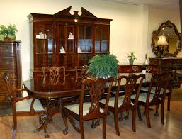 Ebay Dining Room Chairs by 11pc Mahogany Dining Room Set Chippendale China Buffet Ebay