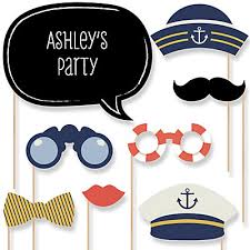 Nautical Theme Baby Shower Decorations - ahoy nautical baby shower decorations u0026 theme babyshowerstuff com