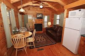 creek 1 bedroom cabin at parkside cabin rentals