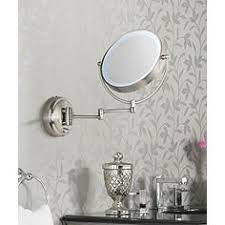 Lighted Wall Mount Vanity Mirror Wall Mounted Makeup Mirrors Magnifying Lighted U0026 More Lamps Plus