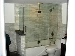 Infold Shower Doors Frameless Sliding Shower Doors For Tubs Bathtub Hinged Tub Door 3