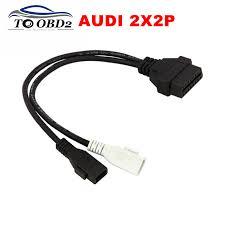 vag com cable audi shop vag adapter for audi 2x2 obd1 obd2 car diagnostic