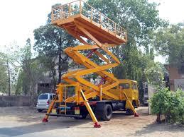 truck mounted man lift nandan gse