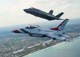 will the f 35 be the next thunderbirds jet never say never