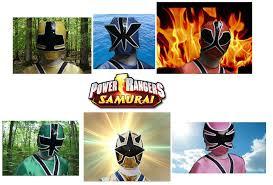 power rangers samurai poster theblastoise deviantart