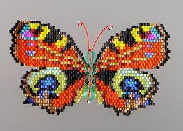 large peacock butterfly pdf pattern and tutorial peacocks pdf and