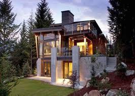 Rustic Modern House Plans Mountain Lake