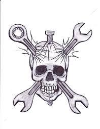 skull wrenches bolt by jwaphreak on deviantart