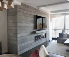 Concrete For Fireplace by Concrete Fireplace With Wood Texture I Love Architectural
