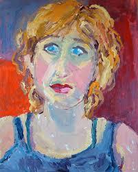 kathleen elsey self portrait santa barbara artist
