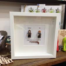 Wedding Gift For Best Friend Harry Potter Personalised Shadow Box Frame Wall Art Gift For Best