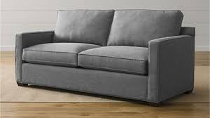 loveseat vs sofa sofas couches and loveseats crate and barrel