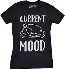 crazy dog tshirts rakuten womens current mood turkey funny