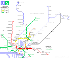 Germany Rail Map by Urbanrail Net U003e Europe U003e Germany U003e Hamburg U Bahn Hochbahn And S