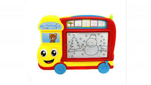 ver baby childrens kids magnetic drawing board for toddlers to