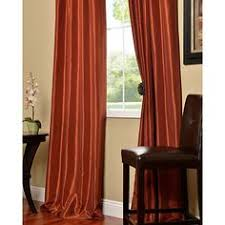Burnt Orange Curtains Our Lightweight Vibrant Orange Curtains Are Perfect For Any Room