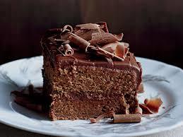 milk chocolate frosted layer cake recipe karina gowing food u0026 wine