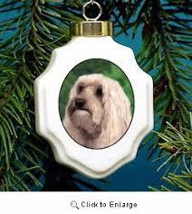 cockapoo ornament porcelain from animal den