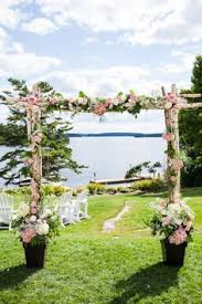 wedding arches canada lovely outdoor garden wedding by bliss weddings events outdoor