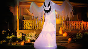 halloween inflateables inflatable fire u0026 ice ghost halloween decoration improvements