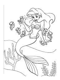 Ariel petite sirene disney 7  Coloriage La petite Sirène Ariel