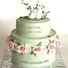 wedding cake name online happy anniversary cake name picture