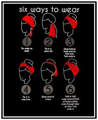how to wear a bandana with short hair how to create a hairstyle with a bandana pretty designs
