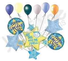 fathers day balloons gee you re swell happy s day balloon bouquet