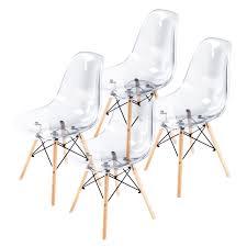 replica eames dsw dining chair multi colour x4 la bella