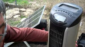 12 volt fan harbor freight 45 watt harbor freight solar kit let s see what will run p youtube