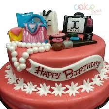 designer cakes odc152 women makeup set cake 1kg designer cakes cake square chennai