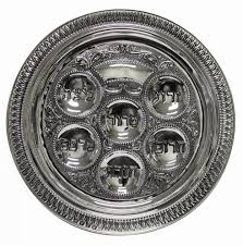 passover seder plates gifts large passover seder plate silver plated