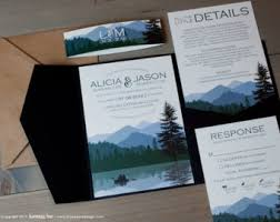 mountain wedding invitations lake house themed wedding invitations search wedding
