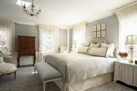 elegant cal king bedding in bedroom eclectic with closet behind