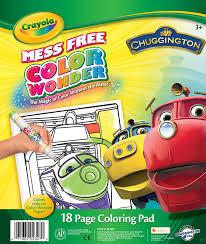 amazon crayola color chuggington coloring pad toys