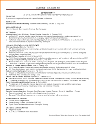 New Nurse Resume Examples by Resume Of A Registered Nurse Free Resume Example And Writing