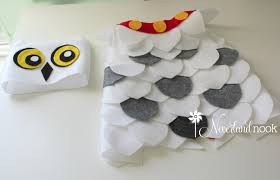 owl costume diy baby toddler hedwig the owl costume from harry