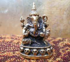 ganesh statue meditation altar tiny ganesha statue portable