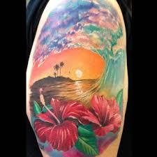 Tropical Themed Tattoos - best 25 hawaiian island tattoo ideas on pinterest hawaiian