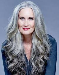 hairstyles for gray hair women over 55 4432 best gray hair images on pinterest grey hair white hair