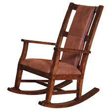 Wooden Chair Png Sunny Designs Santa Fe Traditional Wood Rocker With Upholstered
