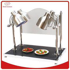 hd4 buffet server warming tray with four adjustable food warmer
