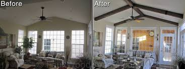 what is a vaulted ceiling unac co