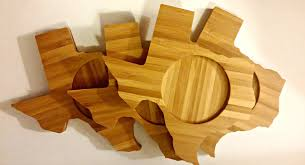 state country shape coasters