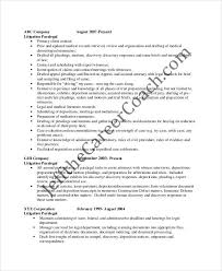 Personal Injury Paralegal Resume Sample Paralegal Resume Samples Visualcv Resume Samples Database