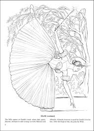 ballet coloring book children books