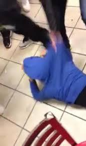 Hit The Floor Facebook - beaten at mcdonald u0027s caught on video warning graphic ny