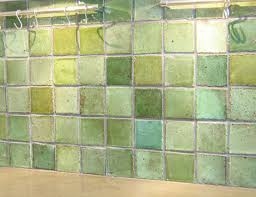 green kitchen tile backsplash one of a handmade tiles for design and architecture by