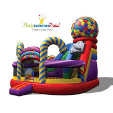 bounce house rentals candy bounce house rentals available for re in miami broward